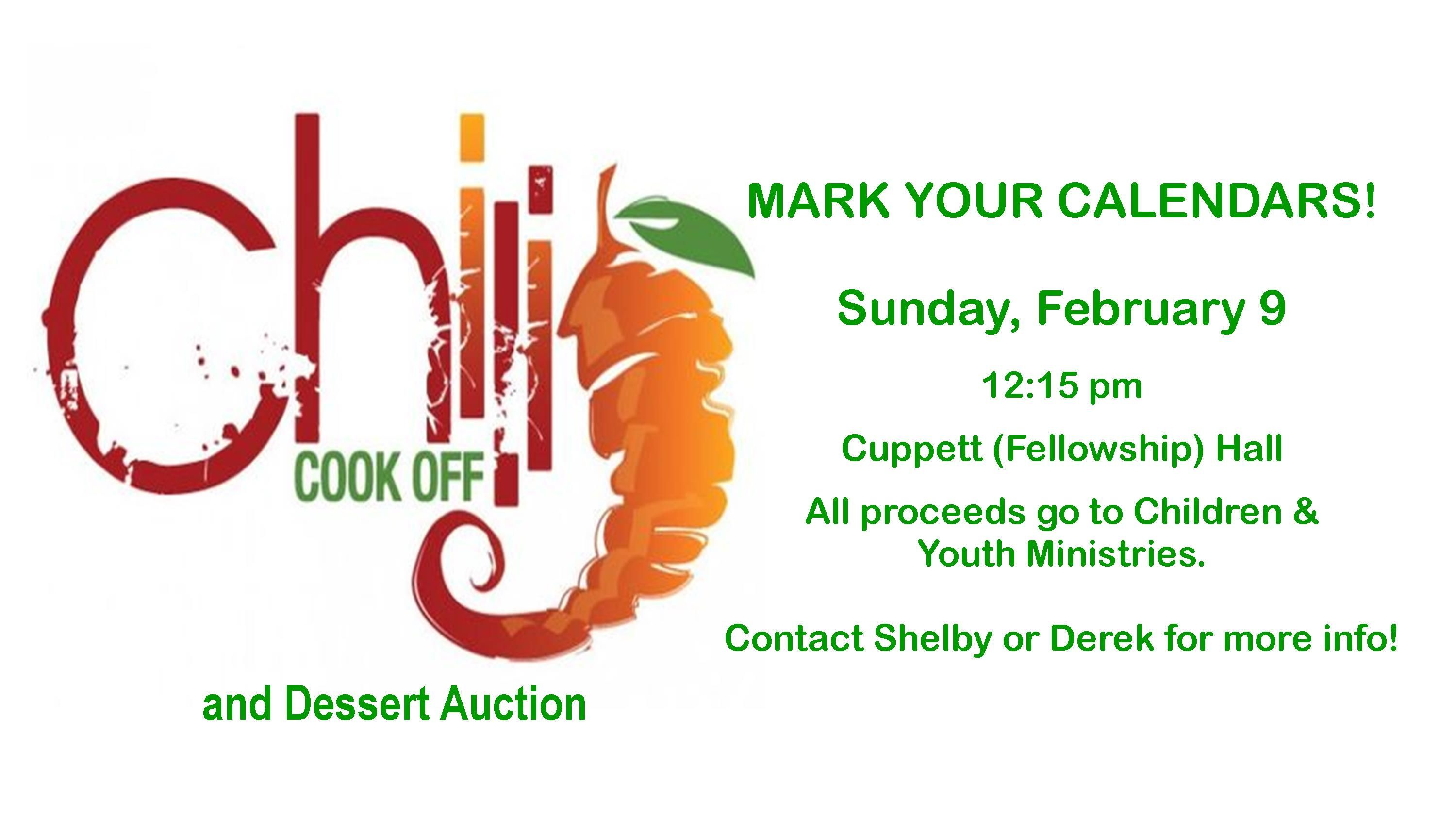 Chili Cook off 2020 NB 2