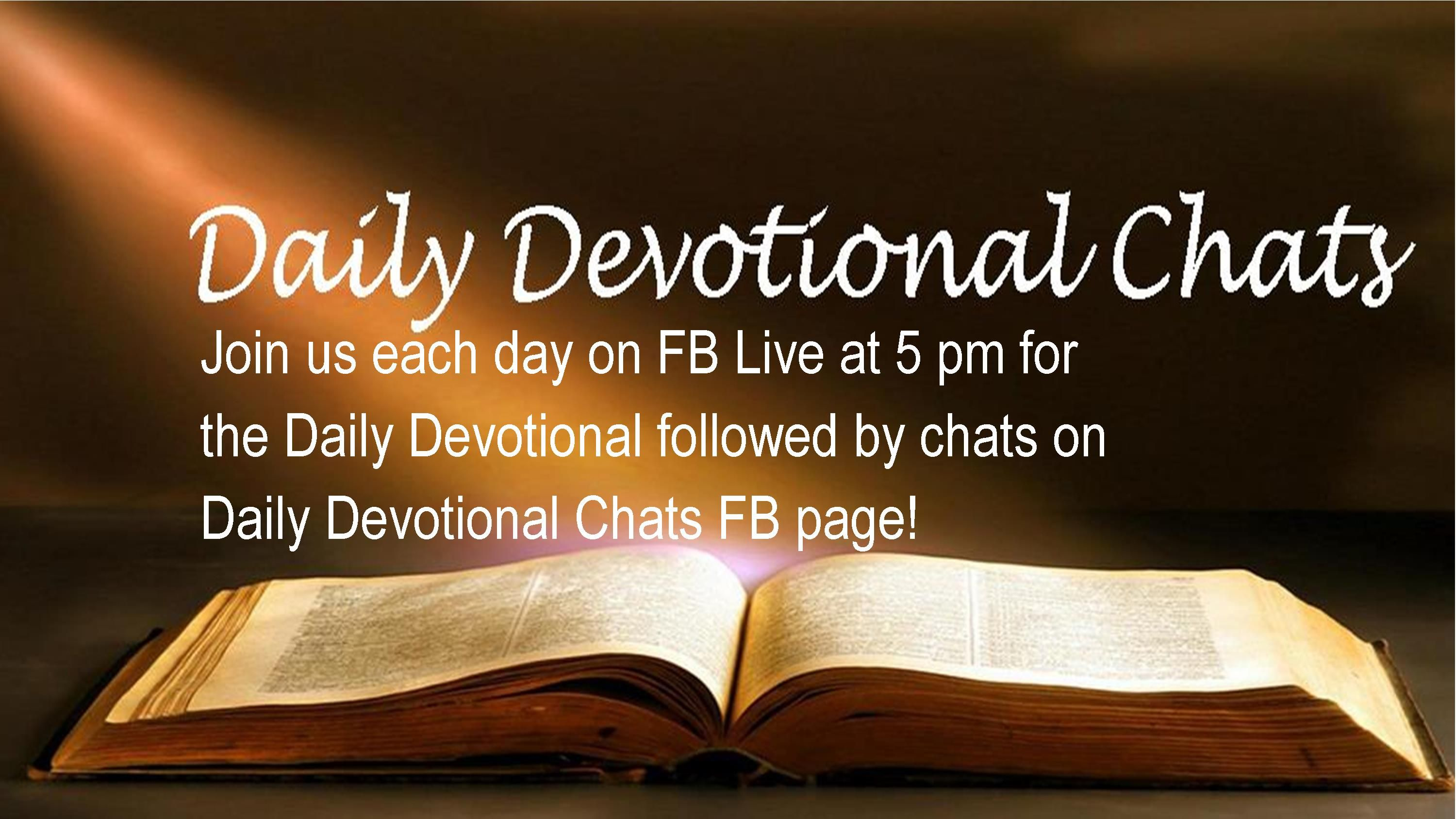 Daily Devotional Worship Slide
