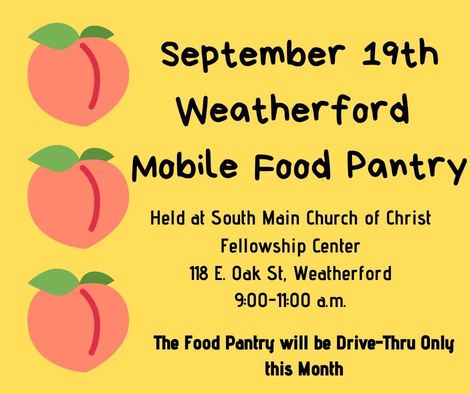 Food Pantry Sept