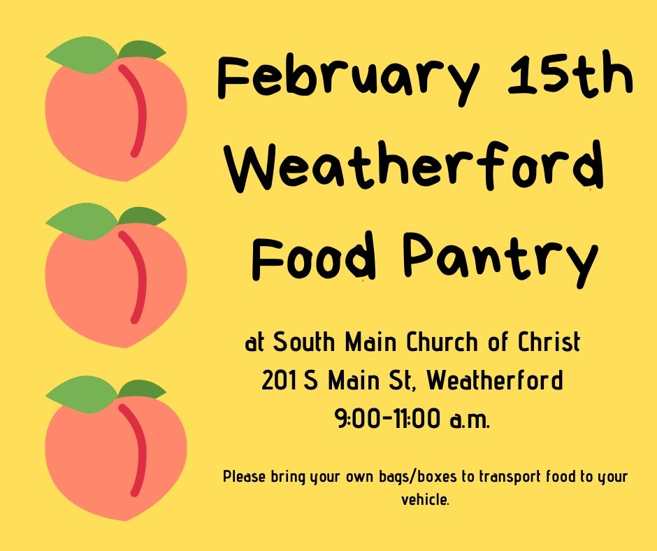 Food Pantry for Feb