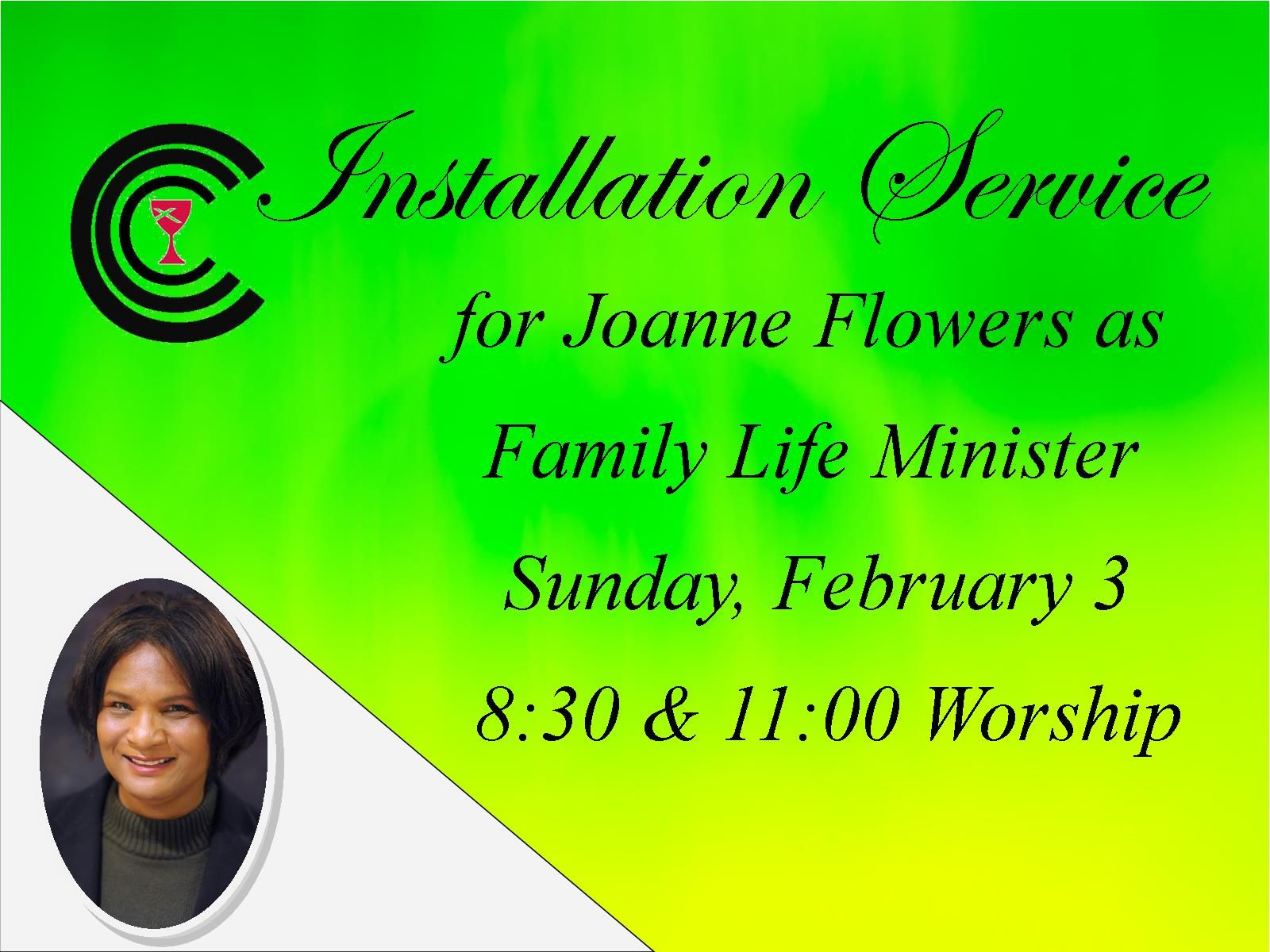 Installation Service for Joanne