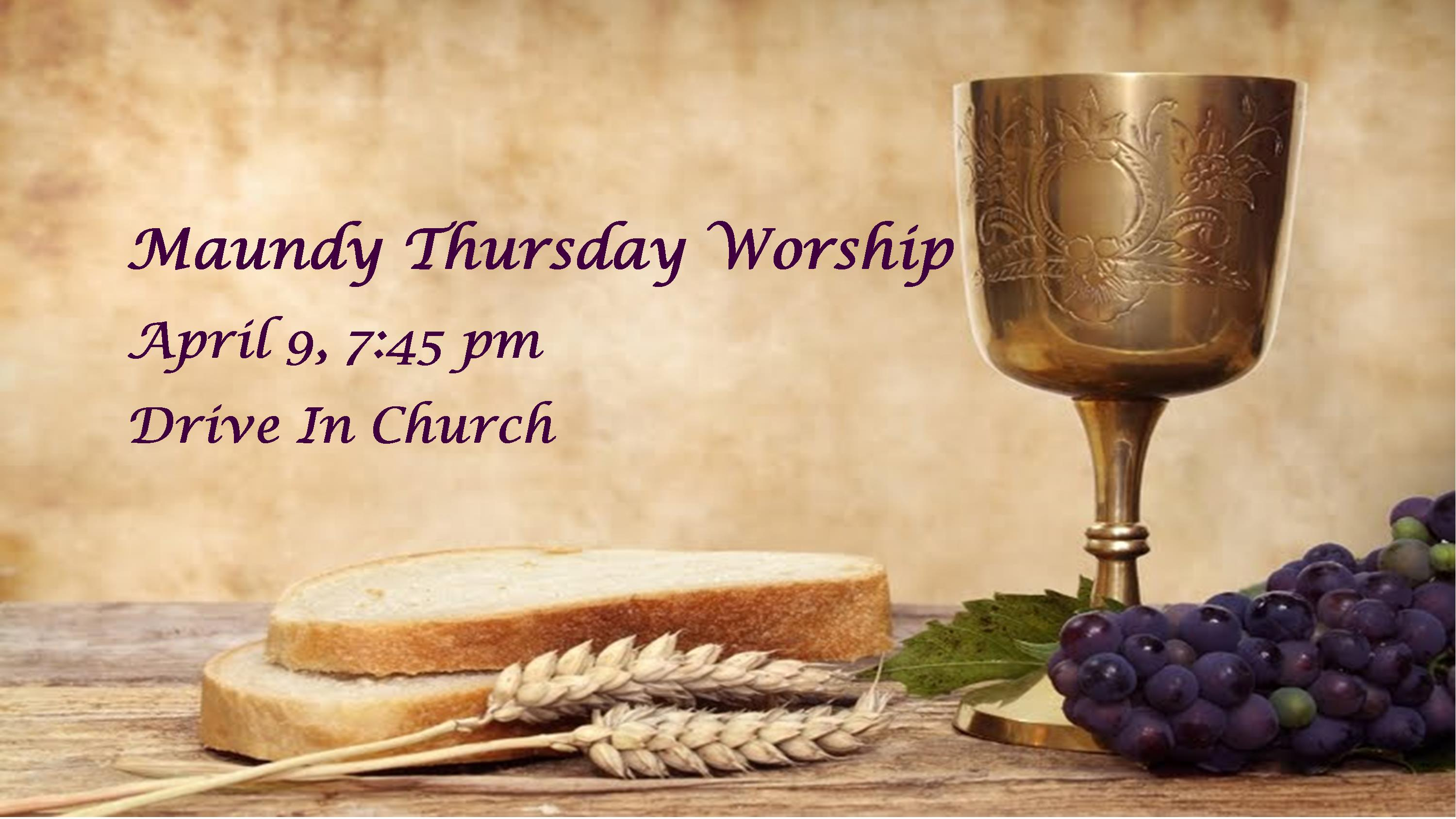 Maundy Thurs 2019 Worship Slide