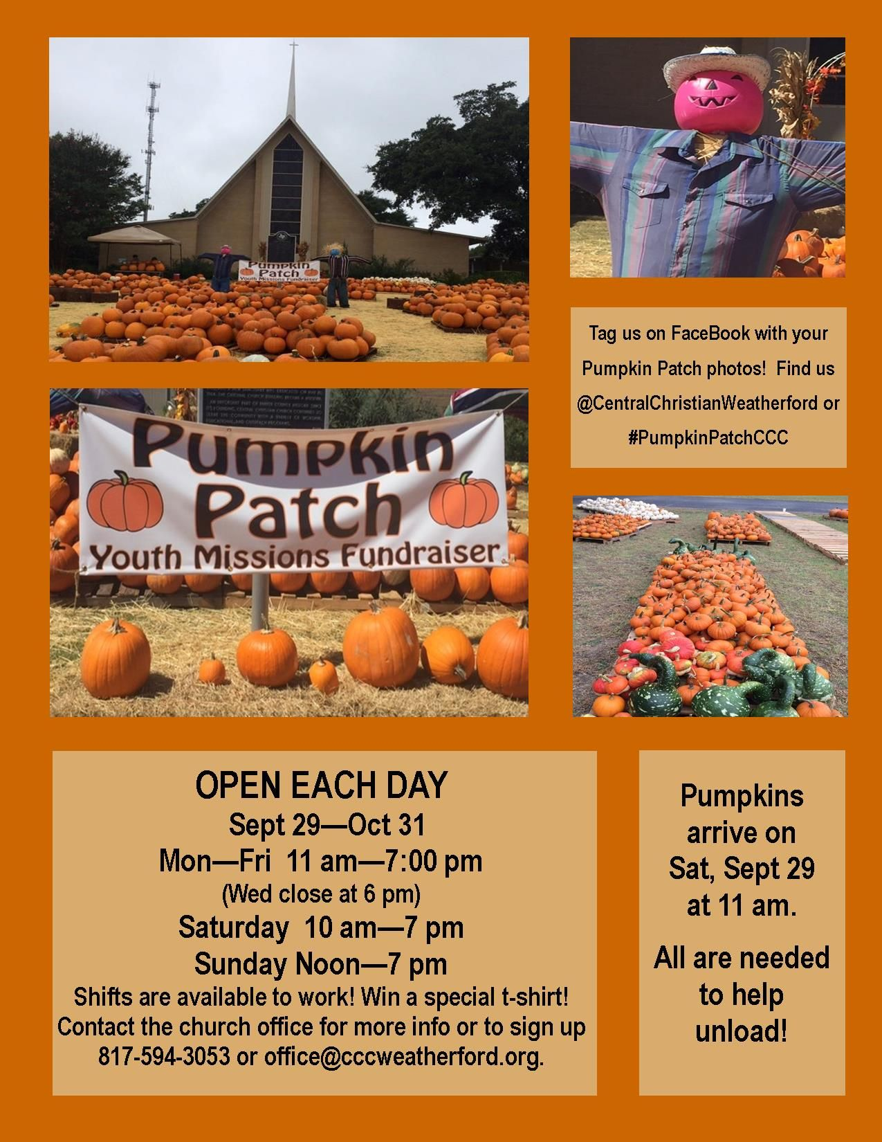 Pumpkin Patch Flyer 2018