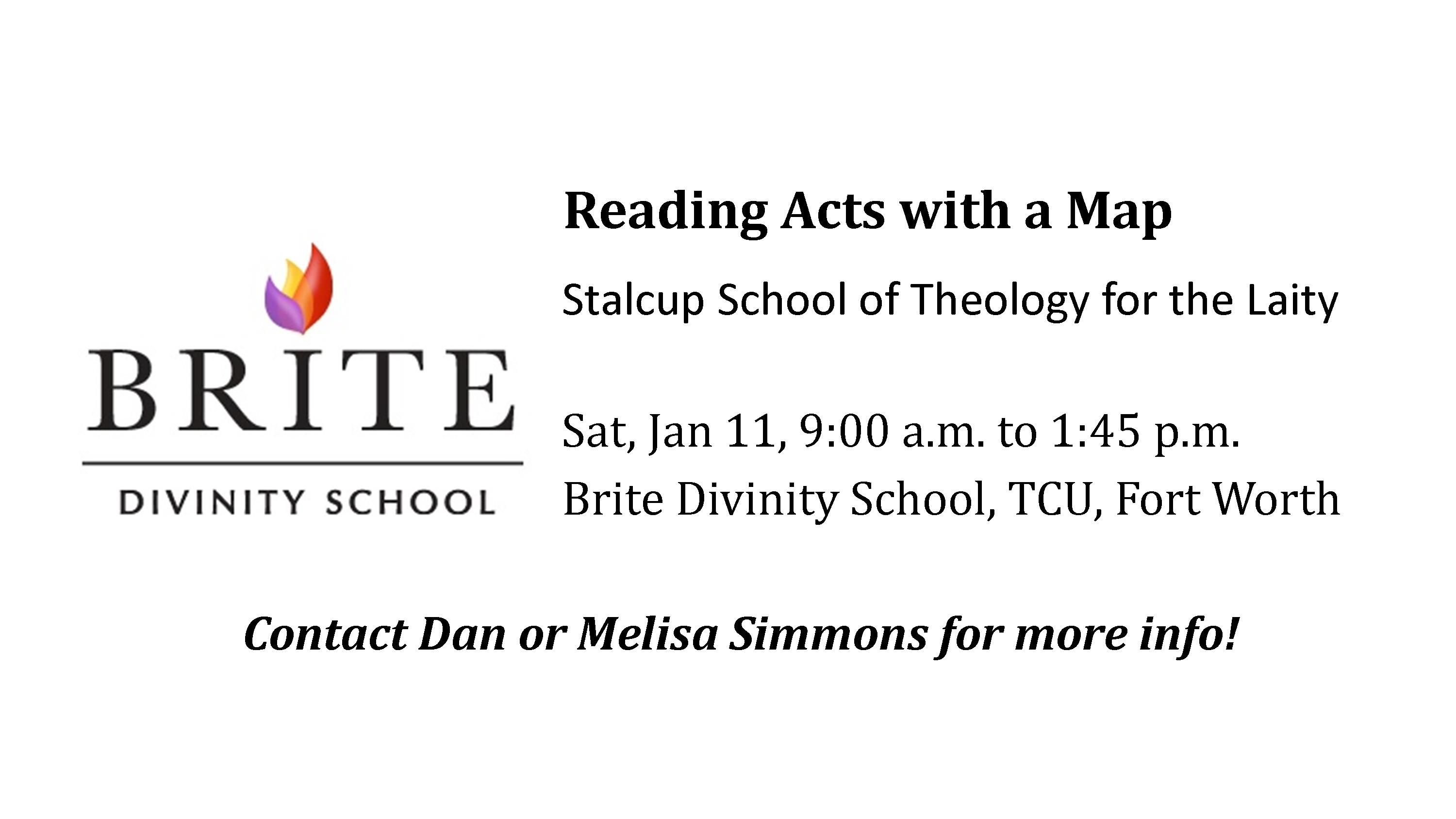 Reading Acts with a Map Worship Slide