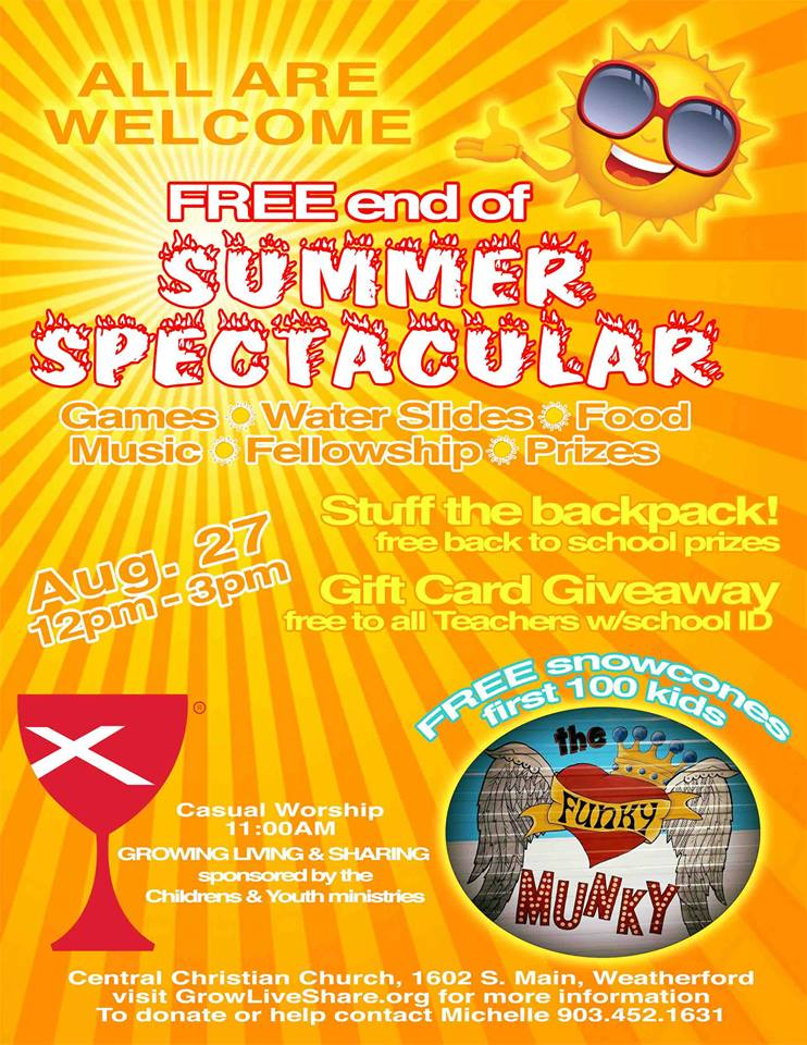Summer Spec Flyer