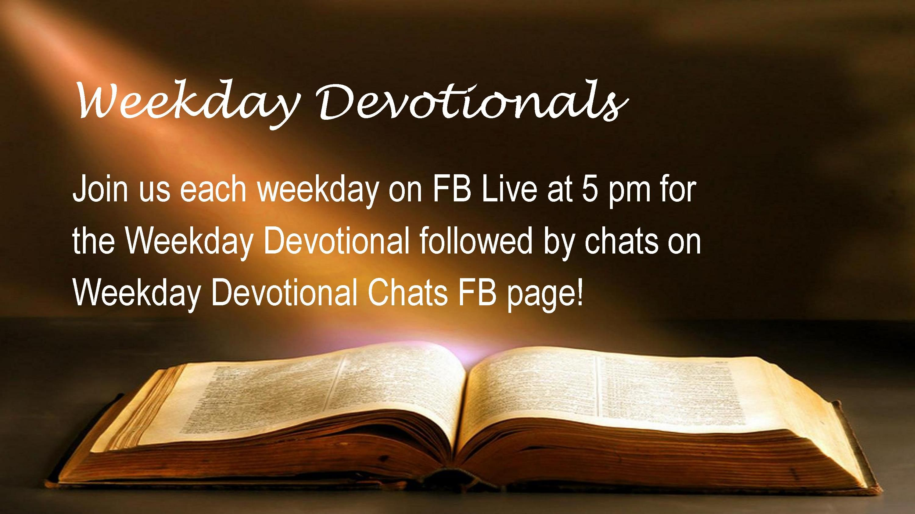 Weekday Devotional Worship Slide